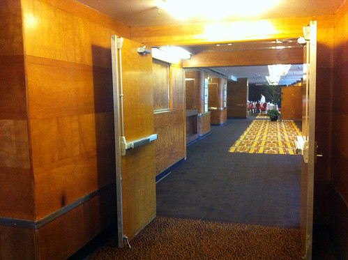 Queen Mary - Glance into Dining Room for Brunch