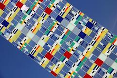pisastudie (reloaded) (Fotoristin - blick.kontakt) Tags: urban abstract architecture harbour geometry diagonal architektur nrw colourful hafen dsseldorf farbig bunt geometrie medienhafen colorium fotoristin psastudie