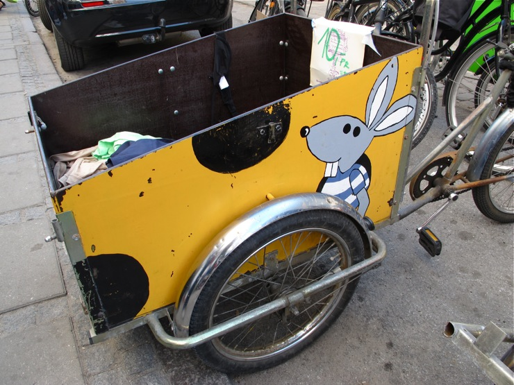 Flea market cargo bike