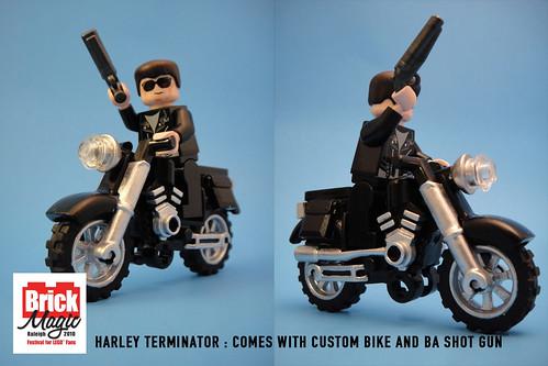 Custom minifig Motorcycle Terminator