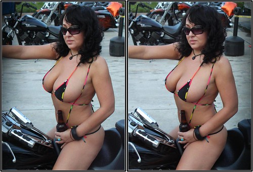 Biker chicks bikini contests