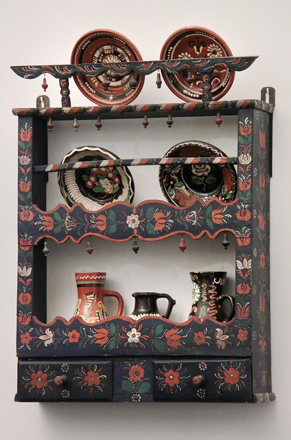 Shelf - Sárköz region, second half of 19th century