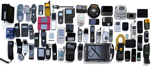Just some of the many devices with screens that I own.