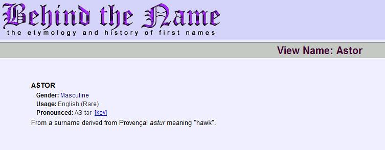 De naam