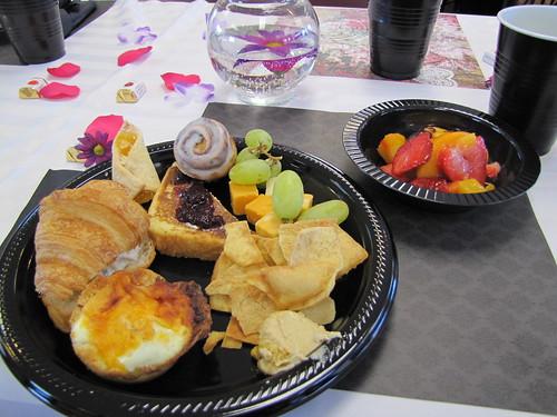 Breakfast was delicious!
