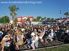 Riverfront Stage Audience During Fernandina's Shrimp Festival