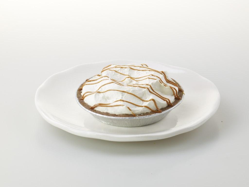 Mango Peach Cream Pie