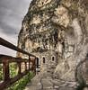 Basarbovski Rock Monastery (Didenze) Tags: texture christian monastery bulgaria tone easternorthodox ruse canon50d vertorama rockmonastery basarbovski didenze