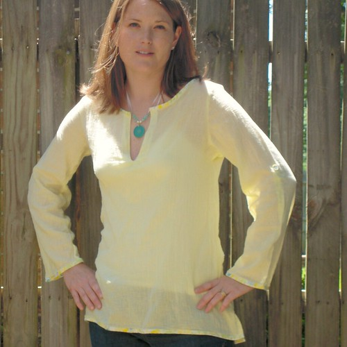 Spring Shearwater Tunic by Cindy