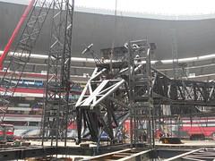 Cuarto día de montaje - Estadio Azteca 30