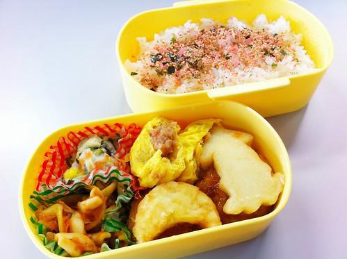 今日のお弁当 No.158 – 焼鮭