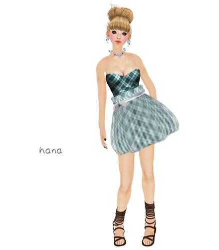 - CHANDELLE - Dress Tatha Blue