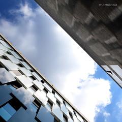bocconi sky (ma[mi]losa) Tags: sky clouds nikon nuvole milano cielo diagonale bocconi 2011 d7000 mamilosa micheledefilippo