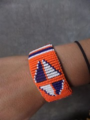 Anti FGM bracelet - designs on the back