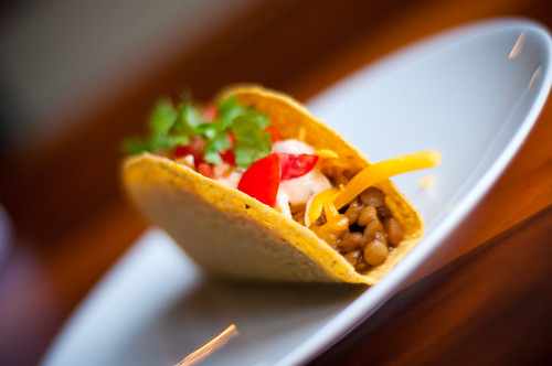 ... good for meatless monday - lentil tacos and chocolate chickpea cake