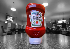 Heinz Tomato Ketchup (Dave Toussaint (www.photographersnature.com)) Tags: california ca travel red portrait bw usa white abstract black photoshop canon tomato photo interestingness bottle interesting photographer ketchup cs2 bokeh sauce picture wideangle squeeze container plastic explore adobe fries catsup upclose heinz hdr tomatoe 57 adjust infocus 1869 established 2011 photomatix denoise 60d topazlabs concordians photographersnaturecom davetoussaint ringexcellence
