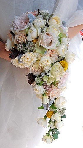 cascade wedding bouquet 5