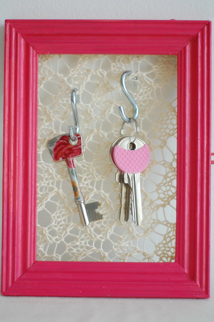 knitted key holder
