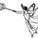 royalty free clip art of a fairy
