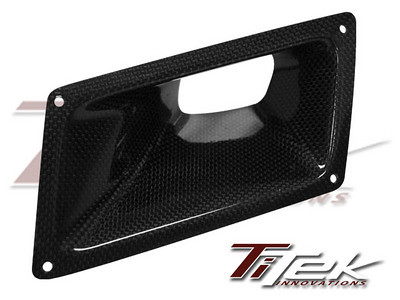 TiTek Carbon Fiber Air Duct - Nissan 350z