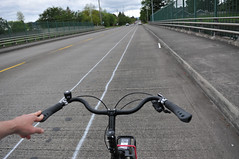 new bike lane on E Burnside over I-205-3-3
