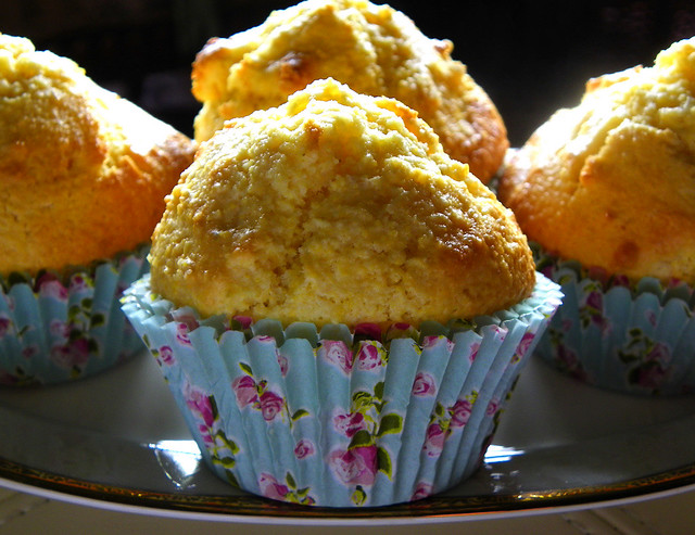 Sunshiny Corn Muffins For A Dull Day
