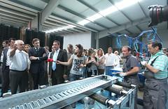 Pedro Passos Coelho visita Fábrica Metalurgica Salemo e Merca