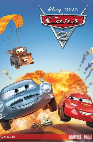 Marvel Cars Disney Pixar Cars The Toys - Cars 2 cool cars book