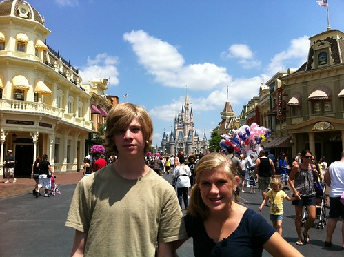 Kids at Magic Kingdom