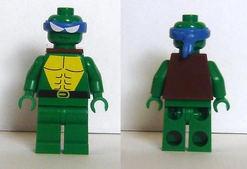 Custom minifig Ninja Turtle Concept