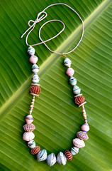 Mzuribeads 1 (Mzuri beads) Tags: bananaleaf barkcloth cowhorn paperbeads ethicalfashion ribbonnecklace recycledjewelry fairtradejewelry naturalbeads fairtradebeads ugandanbeads ecojewellery ethicalbeads mzuribeads ugandanjewelry kirstiemaclean