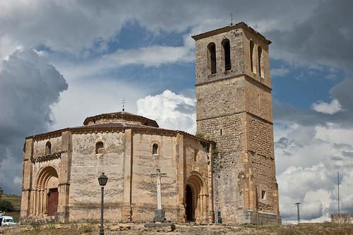 La Iglesia de la Vera Cruz en Segovia