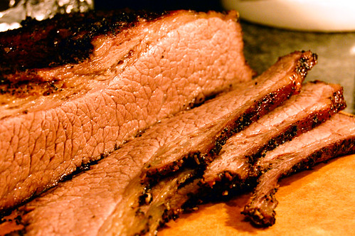 Slicing: Grilled Canadian Beef Brisket