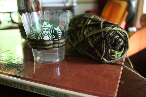 Start of Starbucks Woven Pencil Holder