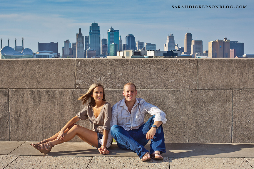 Kansas City Liberty Memorial engagement photographers
