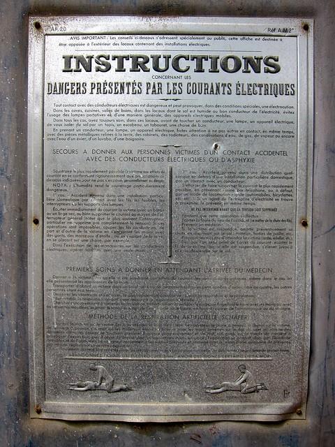 instructions-electriques