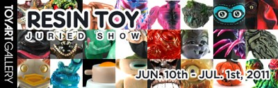 Resin Toy Juried Show @ TAG