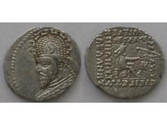 Phraates III drachm (Baltimore Bob) Tags: money persian coin ancient antique persia kermanshah parthian kangavar parthia arsakid phraates fratak