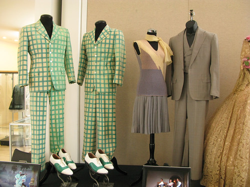 Singin' In The Rain costumes: Debbie Reynolds, Donald O'Connor, Gene Kelley by Nealy-J