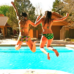 4-18-11 (mkrumm1023) Tags: friends summer sun pool swimming jumping