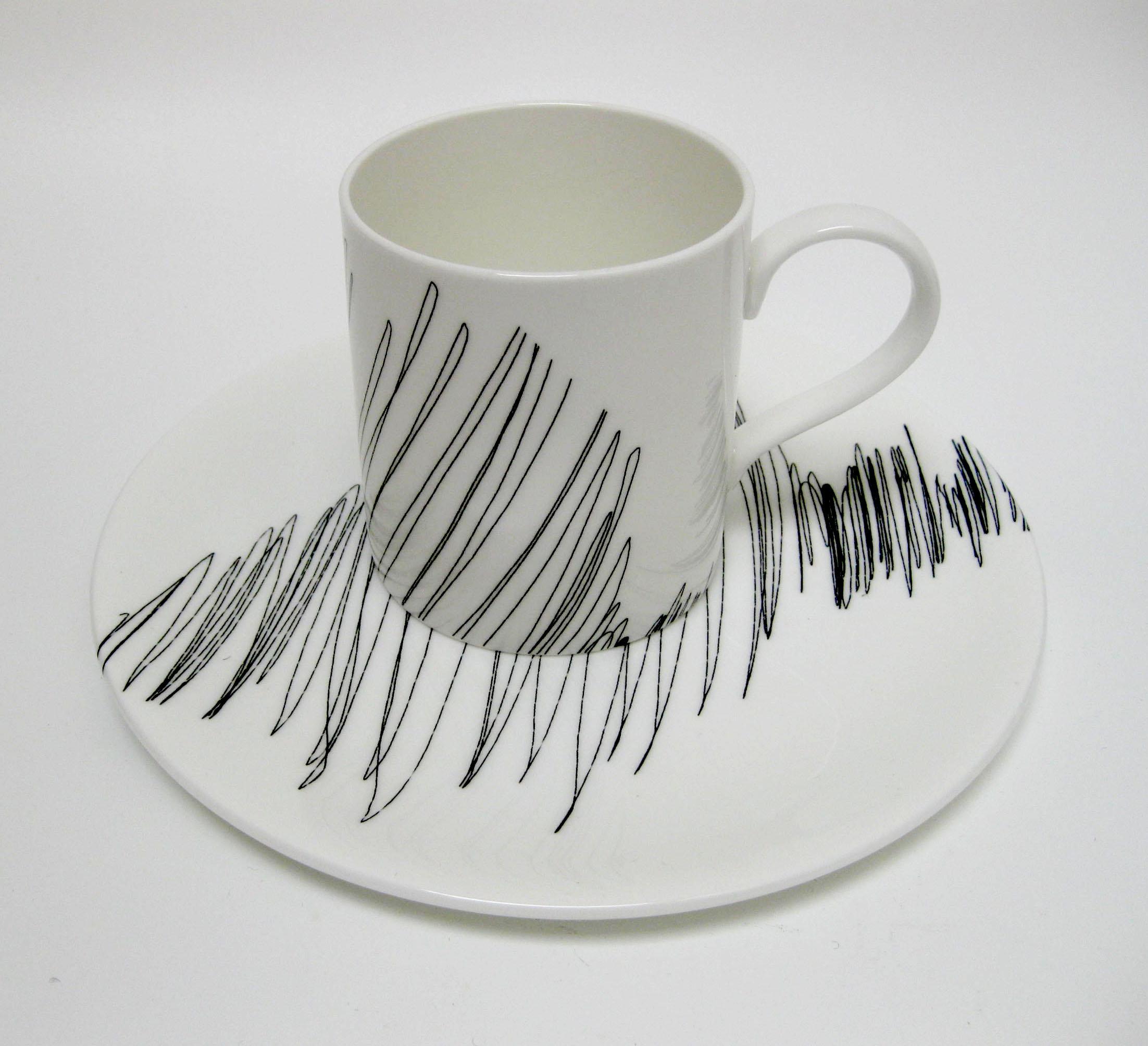 Scribble - Plate and Mug RHS