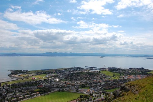 Burntisland from the Binn Hill
