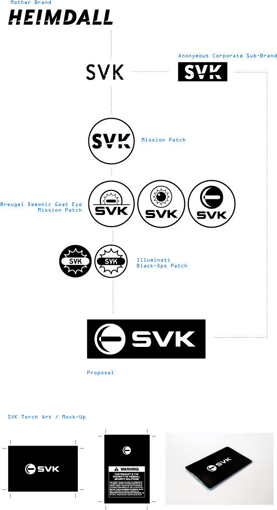 SVK Logo development