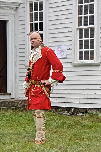 American Revolutionary War Reenactor 05