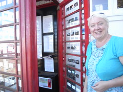 Red phone box gallery