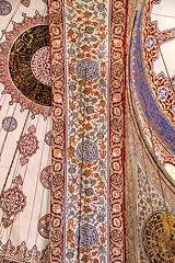 Sultanahmet Camii (dynamosquito) Tags: eos pattern islam mosque ceiling ornament 7d vault bluemosque arabesque ornement mosque camii sultanahmetcamii vote mosquebleue islamicarchitectureistanbulistamboulturquieturkeydynamosquitocanon