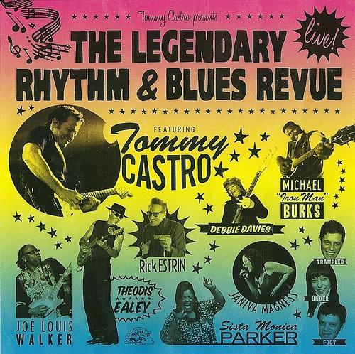 Blues Revue 2010 CD Cover