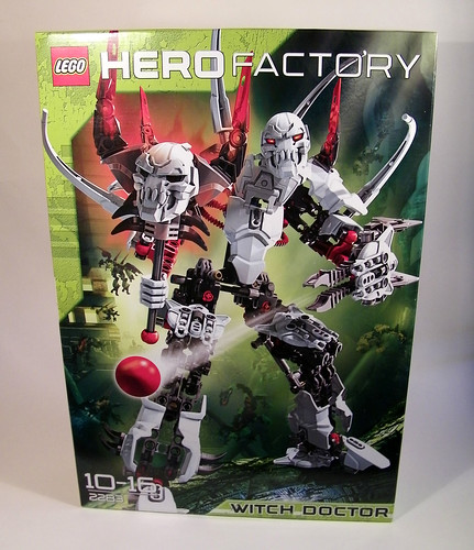 lego hero factory witch doctor instructions