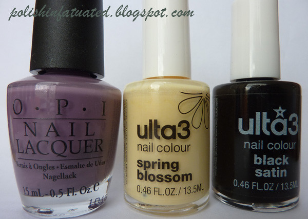 matte leopard polishes