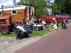So Happy Together (Davydutchy) Tags: show tractor netherlands car classiccar meeting otto caravan juli gypsy friesland fryslân 2011 stnicolaasga stnyk vogonpoetry